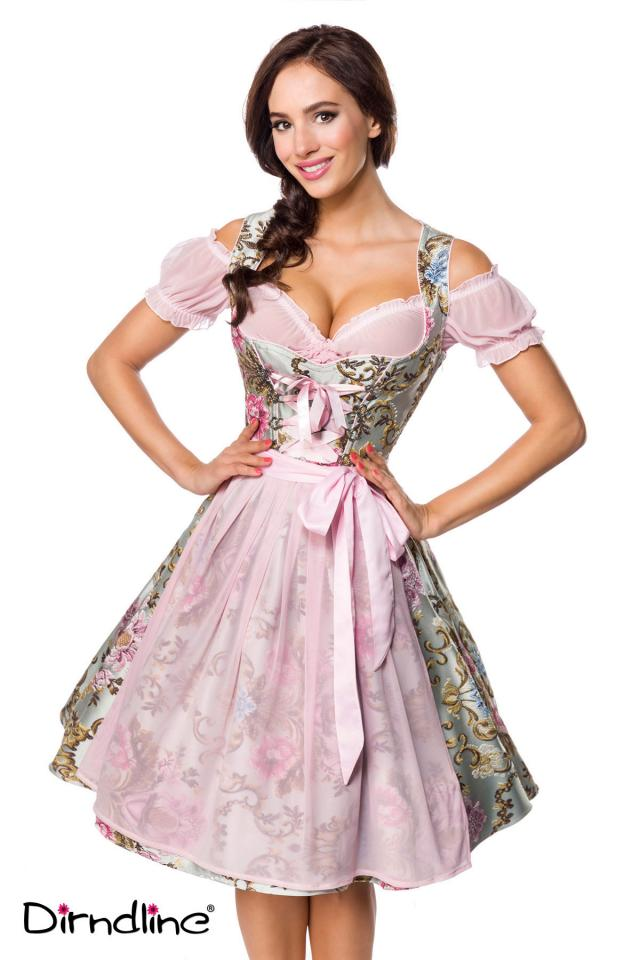 Premium Brocade Dirndl with Blouse
