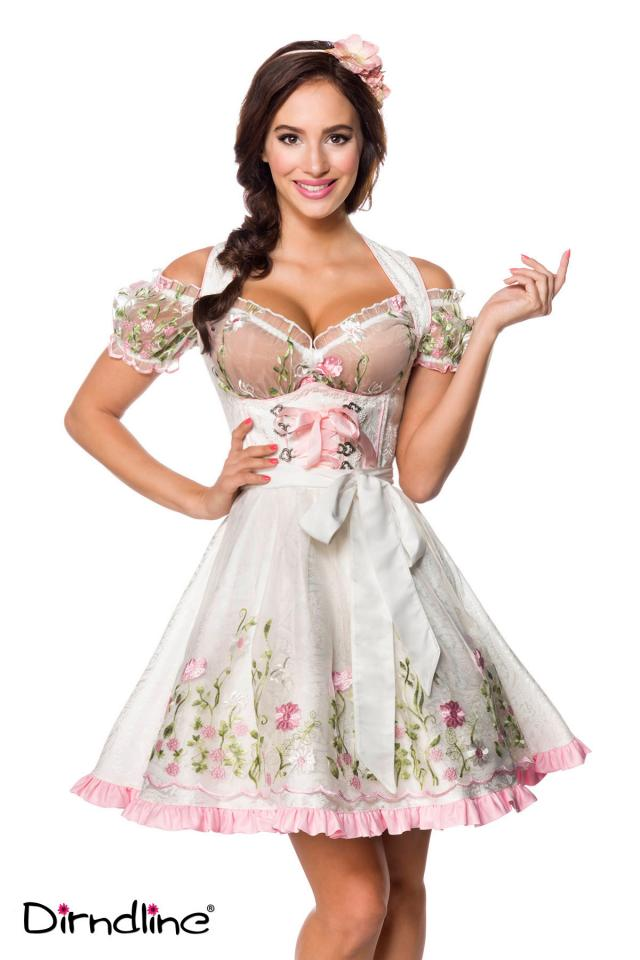 Mini Brocade Dirndl with Blouse